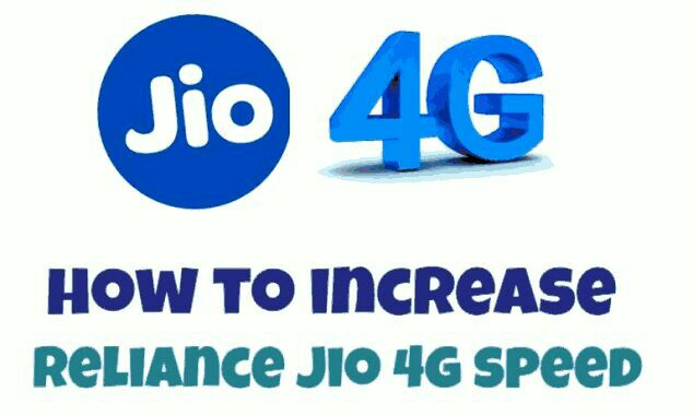 How to increase Jio 4G Speed up to 80 MBPS simple tips