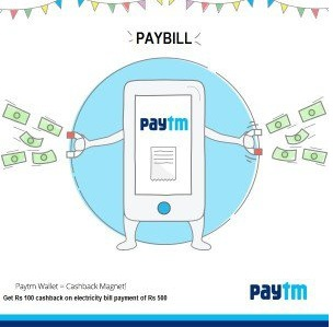 paytm offer get rs 200 cashback on bill payments