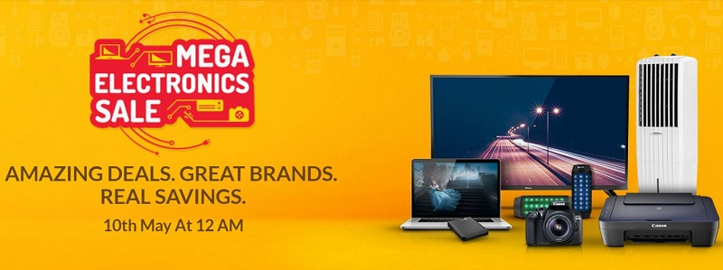 Snapdeal Mega Electronics Sale