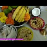 Ganesh Chaturthi Pooja Decorations At Home by #MomsTastyRecipes