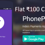 PhonePe Flat 100 cashback on your friend's 1st money transfer