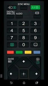 Sony TV Remote App