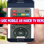 How To Use Mobile as Haier Tv Remote in Tech News Telugu    Haier TV Remote App