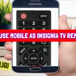 How To Use Mobile as insignia Tv Remote in Tech News Telugu    insignia TV Remote App