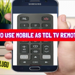 How To Use Mobile as TCL Tv Remote in Tech News Telugu    TCL Roku TV Remote App