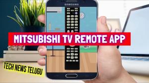 Mitsubishi TV Remote App