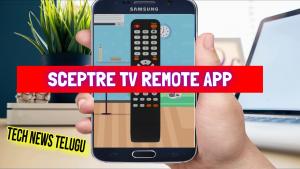 Sceptre TV Remote App