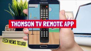Thomson TV Remote App