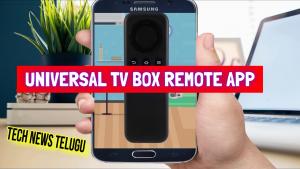 Universal TV Box Remote App