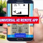 Universal AC Remote App || Universal Smart AC Remote Control || Remote Control For Universal AC