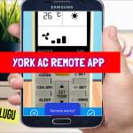 York AC Remote App || York Smart AC Remote Control || Remote Control For York AC